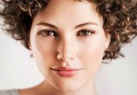 Elegant very short curly hair http curly hair styles short Haircut Styles For Curly Short Hair Ideas