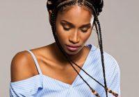 Fresh 105 best braided hairstyles for black women to try in 2020 Simple Braid Styles For Black Hair Choices