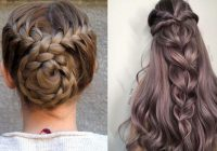 Fresh 12 quick and easy braided hairstyles 2021 braids inspiration Easy Braided Hairdos For Long Hair Choices