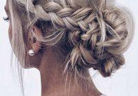 Fresh 14 ethereal women hairstyles medium ideas braided Short Hair Updo Ideas Pinterest Ideas