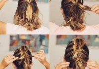 Fresh 20 incredible diy short hairstyles a step step guide Cute Hairstyles For Short Hair Easy To Do Ideas