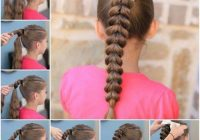 Fresh 20 quick and easy braids for kids tutorial included Easy Braided Hairstyles To Do At Home Step By Step Choices