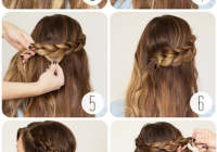 Fresh 30 cute and easy braid tutorials that are perfect for any Easy Braided Hairstyles To Do At Home Step By Step Inspirations
