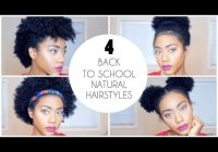 Fresh 4 easy back to school natural hairstyles for short hair Easy Natural Hairstyles Short Hair Choices