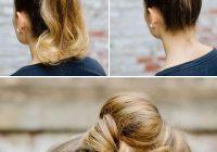 Fresh 40 easy hair tutorials for long and short hair craftionary Cute Updos For Short Hair Tutorials Ideas