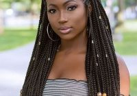 Fresh best looking black braided hairstyles for you to try Black Hair Braids Inspirations