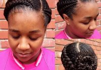Fresh braided hairstyles for black women trending in december 2020 Braided Natural Hair African Hairstyles Inspirations