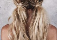 Fresh braided pigtails hair styles long hair styles blonde Hair Braid Styles Tumblr Ideas