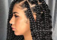 Fresh cornrows braided hairstyles 201925 big box braids cornrows Box Braids Hairstyles Choices