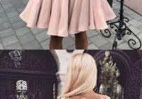 Fresh cute pink lace short prom dress pink homecoming dress pink Cute Hairstyles For Short Prom Dresses Inspirations