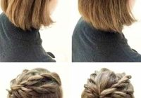 Fresh easy hairstyles ideas for short hair step step video Cute Hairstyle For Short Hair Step By Step Inspirations