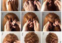 Fresh fashionable braid hairstyle for shoulder length hair Easy Braid Ideas For Medium Length Hair Ideas