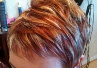 Fresh pin on favorite hair colors Short Brown Hair With Blonde And Red Highlights Ideas