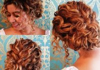 Fresh short curly hair half up google search short wedding Short Curly Hair Updo Styles Choices