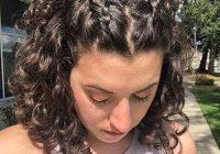 Fresh tucked in 2020 braids for short hair curly hair styles Cute Hairstyles For Short Curly Hair For School Ideas