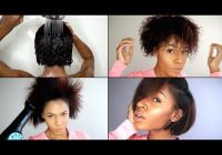 Fresh wash blow out flat iron routine for natural hair video Styling Short Hair With Flat Iron Inspirations