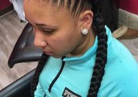 image result for african american french braid hairstyles French Braid African American Black Hair Ideas