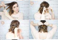 pin brooke spencer on hair short hair ponytail medium Easy Hairdos For Short Hair Pinterest Inspirations