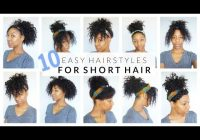 Stylish 10 easy hairstyles for short medium curly hair youtube Hairstyles For Curly Hair Short Easy Inspirations