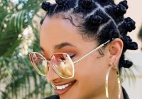 Stylish 12 chic natural hairstyles for short hair to copy right now Natural Short Hair Styles Inspirations