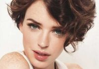 Stylish 15 latest short curly hairstyles for oval faces Short Hairstyles For Long Faces Curly Hair Ideas