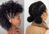 Stylish 21 chic and easy updo hairstyles for natural hair stayglam Quick Updos For Short Natural Hair Choices