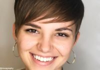 Stylish 28 perfectly cut short hair for round face shapes ideas for Short Haircut For Thin Hair And Round Face Choices
