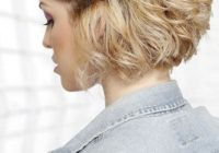 Stylish 30 easy hairstyles for short curly hair the trend spotter Hairstyles For Curly Hair Short Easy Choices