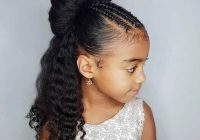 Stylish 30 endearing wedding hairstyles for little girls hairstylecamp African American Girl Hairstyles For Weddings Ideas