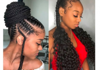 Stylish 37 latest braids hairstyles ponytails with weave that will Latest Hairstyle Braids Ideas