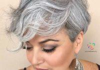 Stylish 50 fabulous gray hair styles julie il salon Gray Short Haircuts Choices