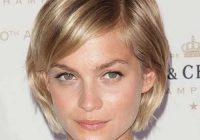 Stylish 50 short haircuts that solve all fine hair issues hair Short Bob Hairstyles With Bangs For Fine Hair Inspirations