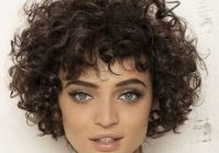 Stylish 55 alluring ways to sport short haircuts with thick hair Short Haircuts For Thick Curly Frizzy Hair Ideas