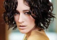Stylish 60 brilliant short curly bob hairstyles Short Haircuts For Curly Hair Long Face Ideas