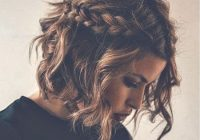 Stylish braids curly hair cute short hair tumblr hair image Hair Braid Styles Tumblr Choices