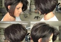 Stylish flattering layered short haircuts for thick hair the Short Bob Hairstyles For Thick Hair And Round Face Ideas