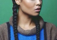 Stylish french braid hairstyles for black women easy braid haristyles French Braid African American Black Hair Designs