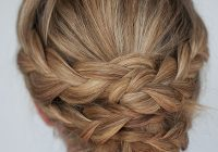 Stylish hairstyle how to easy braided updo tutorial hair romance Long Hair Braid Updo Tutorial Inspirations