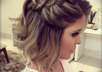 Stylish hairstyles for party 2019short and curly haircuts short Party Styles For Short Hair Ideas