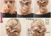Stylish pin karen nichols on coiffures short hair prom updos Updo Hairstyles For Short Hair Pinterest Ideas