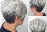 Stylish pin on hair cuts Gray Short Haircuts Inspirations
