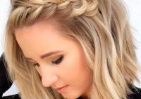 Stylish pin on hair Side Braid Hairstyles For Thin Hair Inspirations