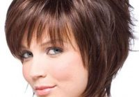 Stylish pin on hair styles Short Haircuts With Bangs For Thick Hair Choices