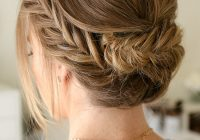 Stylish pretty summer hairstyles for long hair easy braided updos Long Hair Braided Updo Tutorial Inspirations