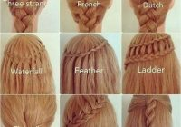 Stylish quick easy cute and simple step step girls and teens Quick And Easy Braided Hairstyles For Medium Hair Choices