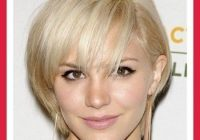 Stylish short hairstyles for fine hair oval face style pinterest Short Hairstyles For Fine Hair Long Face Ideas