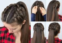 Stylish step step hair tutorials for long and medium hair Braid Hairstyles Step By Step With Pictures Choices