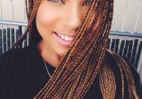Stylish thin braids micro braids hairstyles hair styles braided Braid Styles For Thin Black Hair Ideas