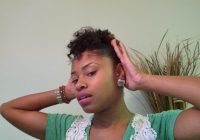 Stylish tutorial quick updo for short natural hair Quick Updos For Short Natural Hair Choices
