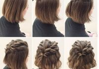 Stylish updo hairstyles tutorials for girls with short hair Cute Updos For Short Hair Tutorials Choices